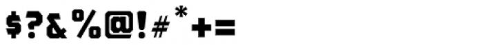 The Bartender Sans B Font OTHER CHARS