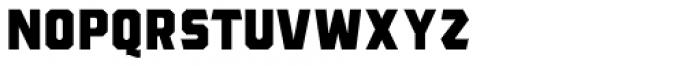 The Bartender Sans B Font UPPERCASE