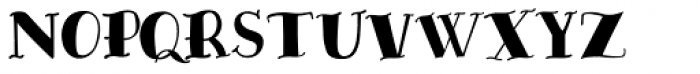 The Bay Font UPPERCASE