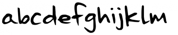 The Best We Could Do Font LOWERCASE