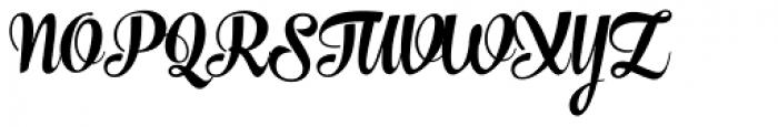 The Carpenter Black Font UPPERCASE