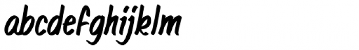 The End BB Italic Font LOWERCASE