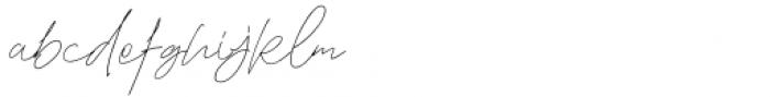 The Good Stuff Regular Font LOWERCASE