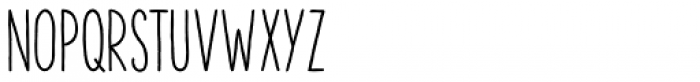The Hand Bold Font LOWERCASE