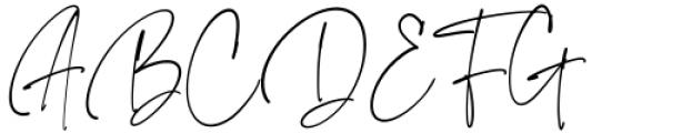 The Imaginations Regular Font UPPERCASE