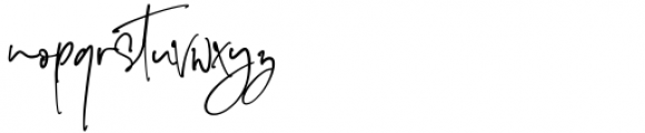 The Imaginations Regular Font LOWERCASE