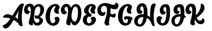 The Macksen Clean Font UPPERCASE