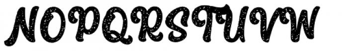 The Macksen Textured Font UPPERCASE