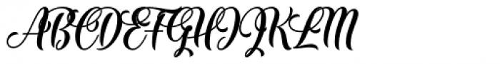 The Mumbai Sticker Regular Font UPPERCASE