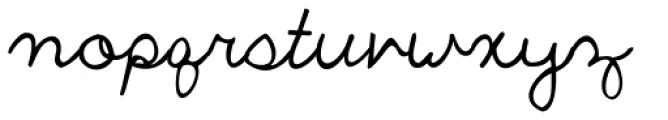 The Only Exception Font LOWERCASE