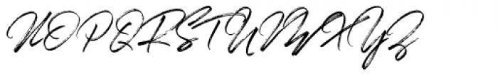The Overleys Regular Font UPPERCASE