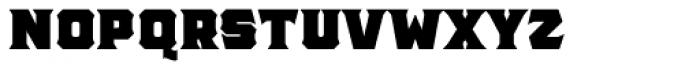 The Pretender Bold Serif Font UPPERCASE
