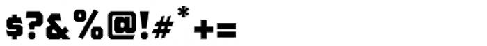 The Pretender Medium Sans Font OTHER CHARS