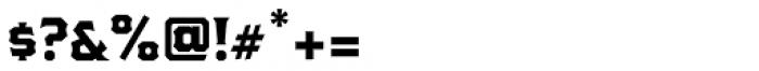 The Pretender Reg Serif Font OTHER CHARS