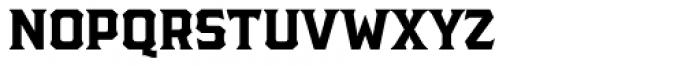 The Pretender Reg Serif Font UPPERCASE