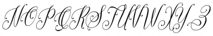 The Singers Regular Font UPPERCASE