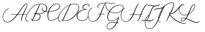 The Sky Bold Font UPPERCASE
