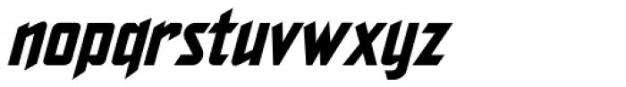The Story So Far Italic Font LOWERCASE