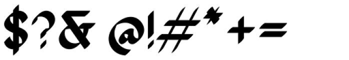 The Stroke Sans Black Font OTHER CHARS