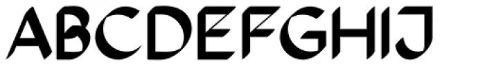 The Stroke Sans Black Font UPPERCASE