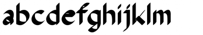 The Stroke Sans Black Font LOWERCASE