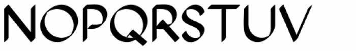 The Stroke Sans Bold Font UPPERCASE