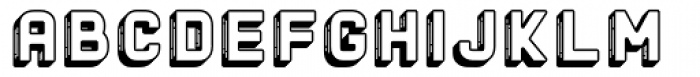The Woods Edge Font LOWERCASE