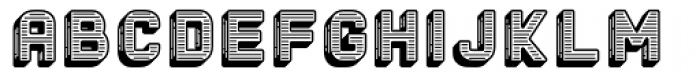 The Woods Etched Font LOWERCASE