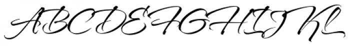 TheNautiGal Light Font UPPERCASE