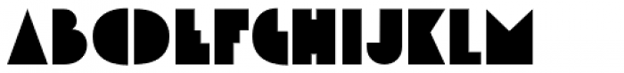 Theater District JNL Font LOWERCASE