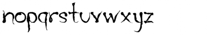 The Font LOWERCASE