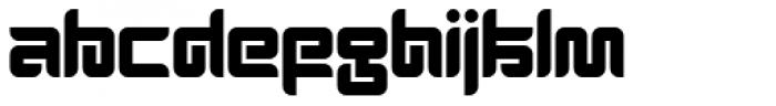 Thenofreak Black Font UPPERCASE