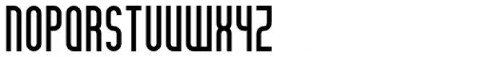 Theo Ballmer Narrow Bold Font UPPERCASE