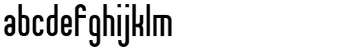 Theo Ballmer Narrow Bold Font LOWERCASE