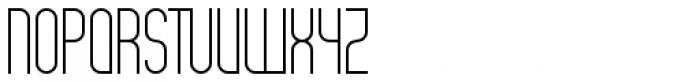 Theo Ballmer Narrow Light Font UPPERCASE