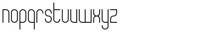 Theo Ballmer Narrow Light Font LOWERCASE