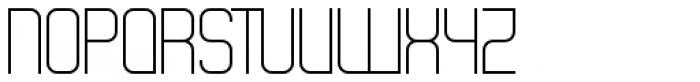 Theo Ballmer Normal Light Font UPPERCASE