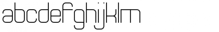 Theo Ballmer Normal Light Font LOWERCASE