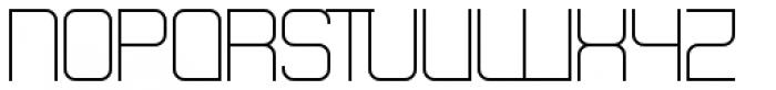 Theo Ballmer Wide Light Font UPPERCASE