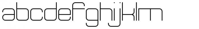 Theo Ballmer Wide Light Font LOWERCASE