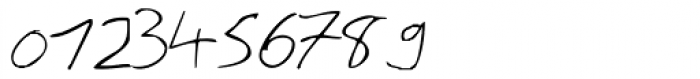 Theo Handwriting Font OTHER CHARS