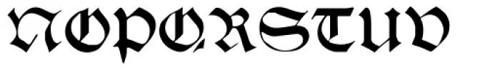 Theodoric Font UPPERCASE