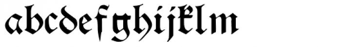 Theodoric Font LOWERCASE