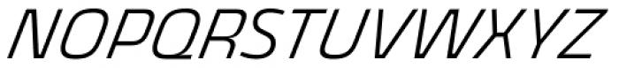 Thicker Light Italic Font UPPERCASE