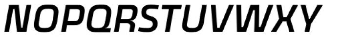 Thicker Medium Slanted Font UPPERCASE