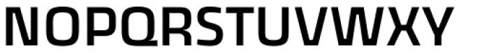 Thicker Medium Upright Font UPPERCASE