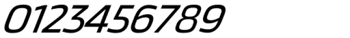 Thicker Regular Italic Font OTHER CHARS