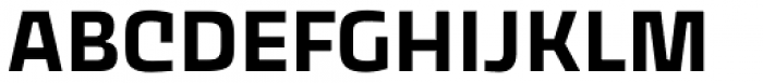 Thicker Semibold Font UPPERCASE