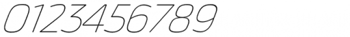 Thicker Thin Italic Font OTHER CHARS