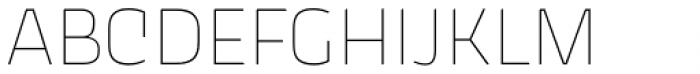 Thicker Thin Upright Font UPPERCASE